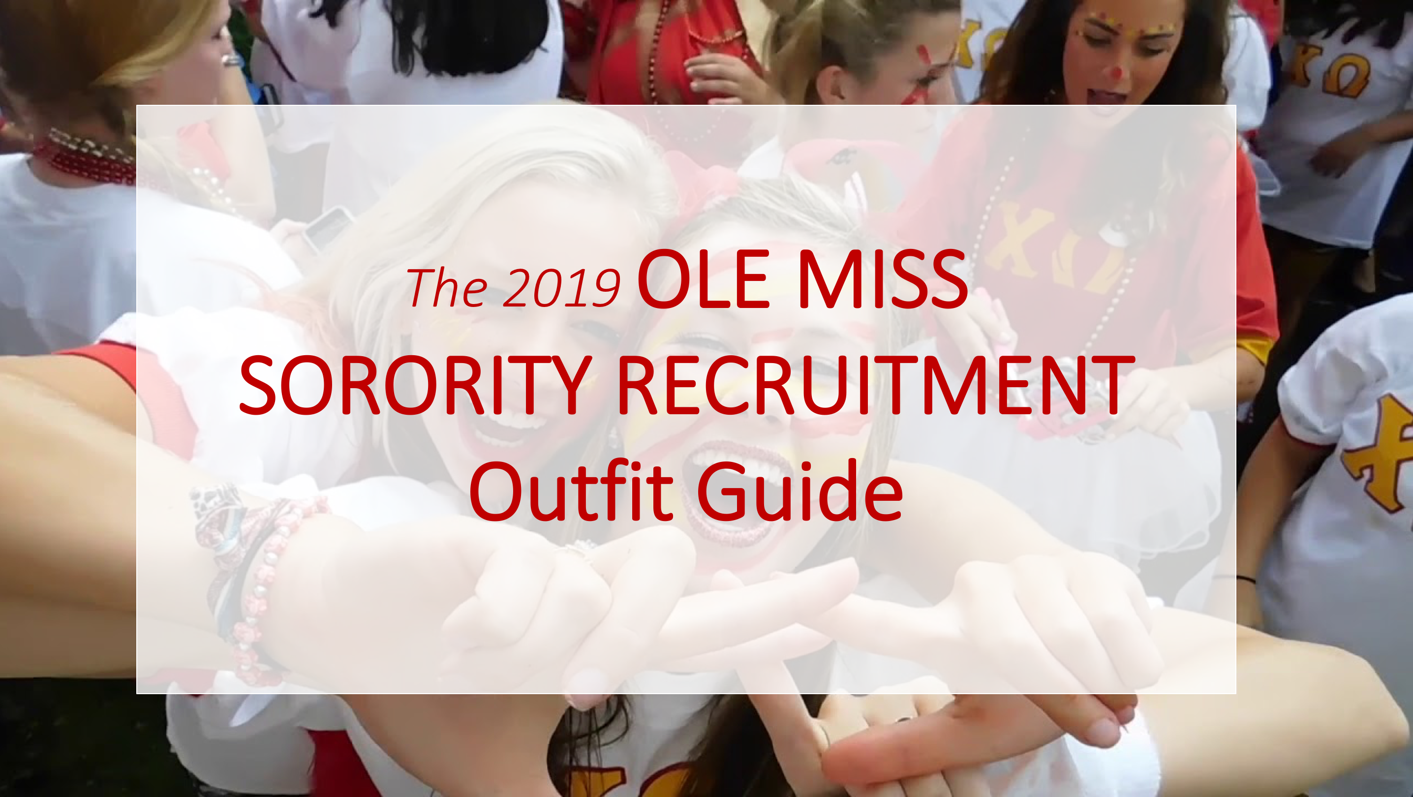 What to Wear: 25 Ole Miss Sorority Recruitment Outfit Guide